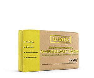 U-MIX SANDBLAST SAND